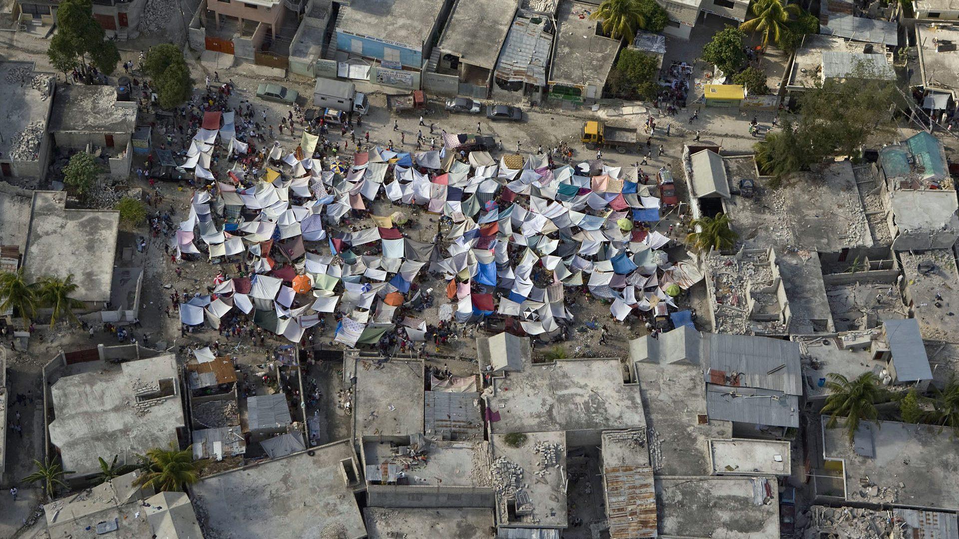maisons antisismiques à Haiti