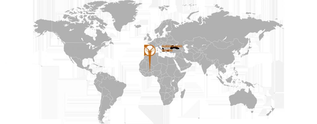 map burkina-faso